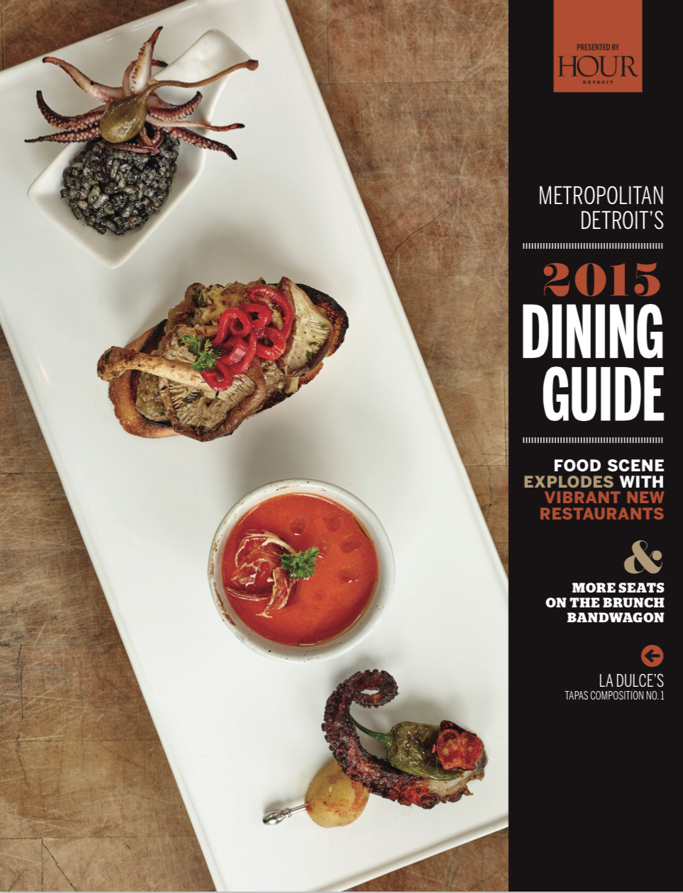 Metropolitan detroit dining guide 2015 bistro 82 for Restaurant guide